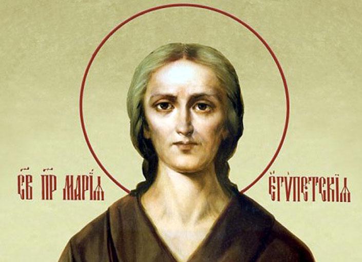 5 неділя Великого посту. Преподобної Марії Єгипетської