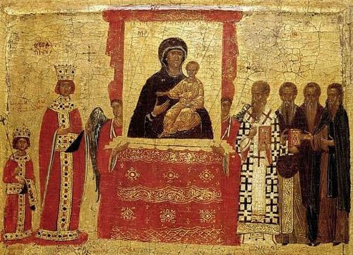 1 неділя Великого посту. Торжество Православ'я