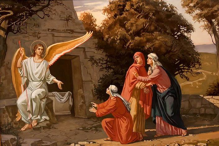 Жінки-мироносиці – незручні свідки