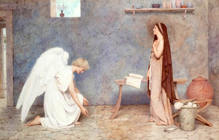 Блага звістка: Ввічливий стук у двері і сміливість Марії