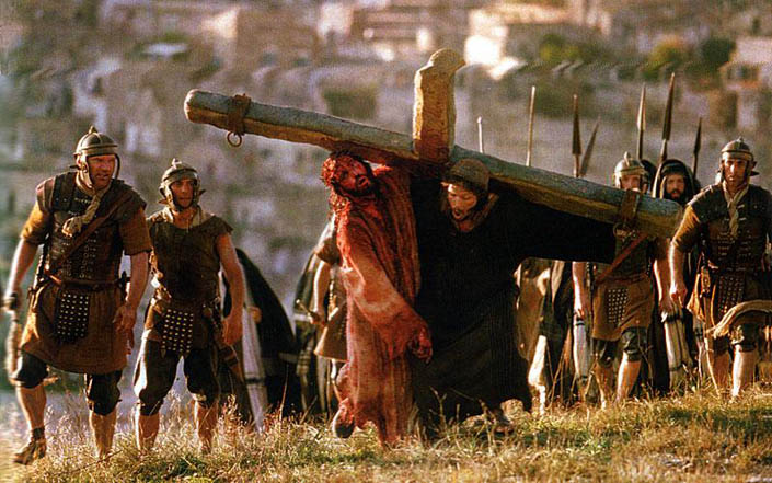 Про несення хреста Симоном Киринеянином