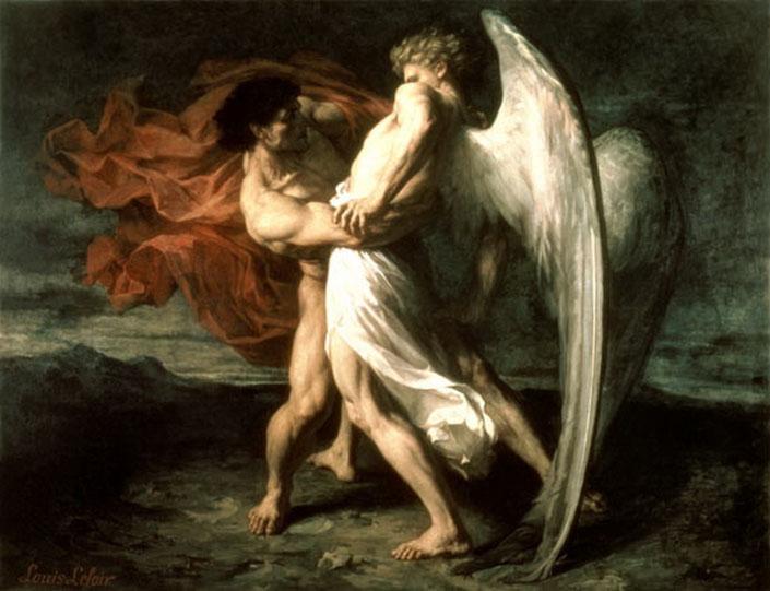 Боротьба людини з Богом