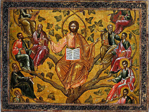 Неділя перед Різдвом Христовим. Святих Отців