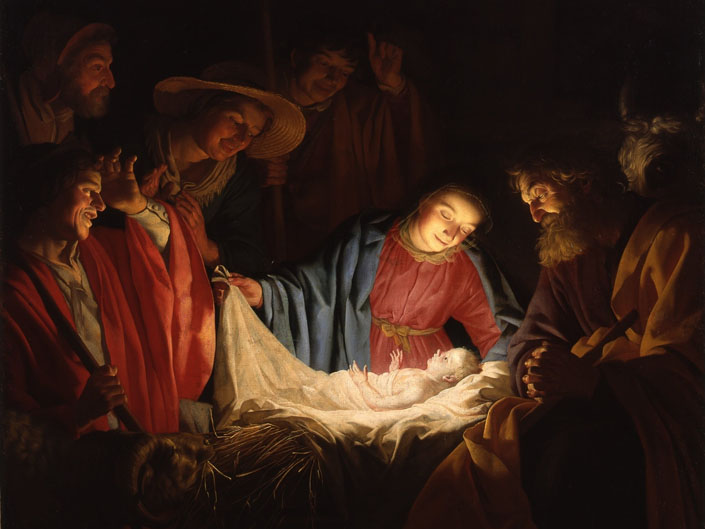 Різдво Христове і туманність Андромеди