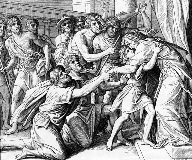 Йосиф випробовує братів
