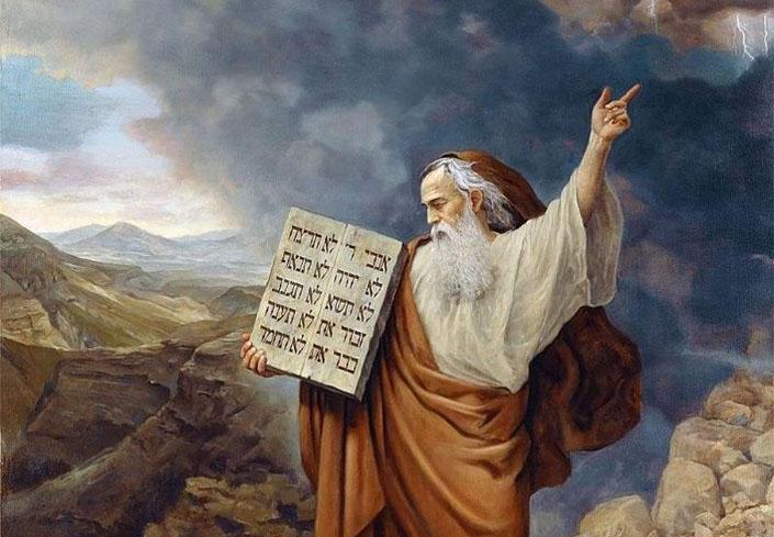 Мойсей і дарування закону