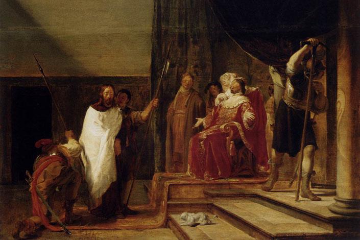 Чому Ірод одягнув Ісуса в почесну уніформу римських чиновників?