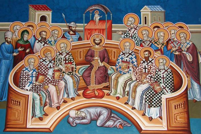 Перший Вселенський собор відкрив картину світу неймовірної краси