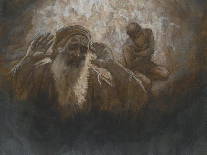 П'єса про багача і Лазаря