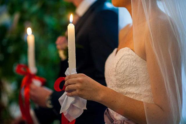 Видимі символи таїнства Подружжя
