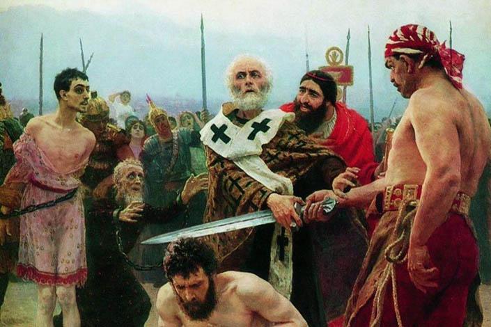 Коли святитель Миколай хапається за меч